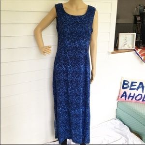 ❤️CLEARANCE Worthington blue maxi dress size 10